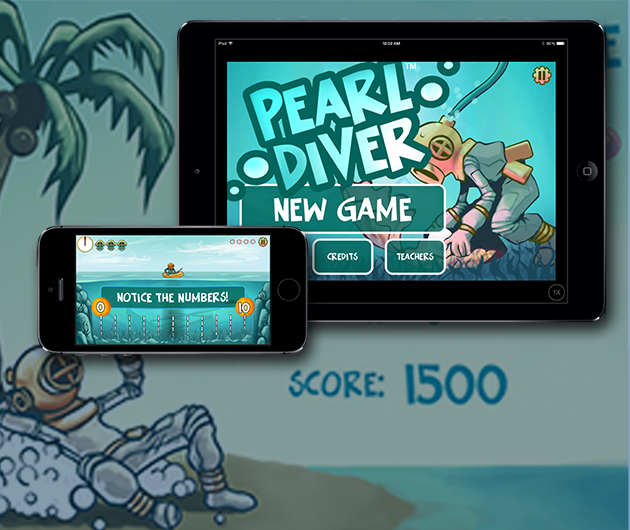 Pearl Diver iOS on iPad and iPhone
