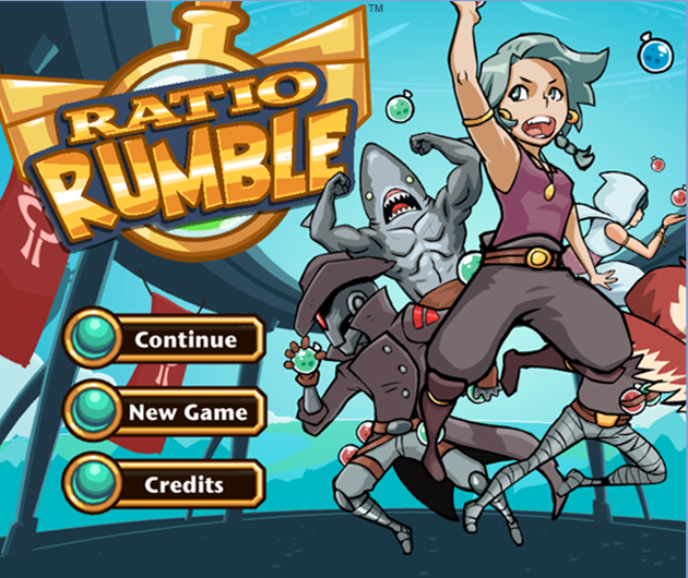 Ratio Rumble title
